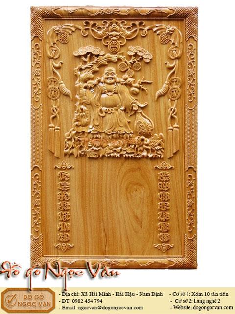 Đốc lịch tết gỗ đục Di Lặc