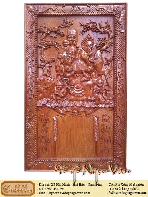 Đốc lịch treo tường bằng gỗ