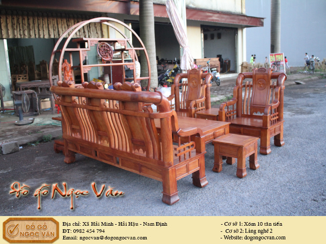 Salong Minh Tần cách tân