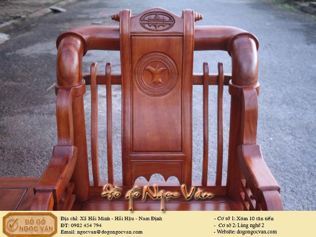 Bàn ghế Minh Tần kiểu hiện đại