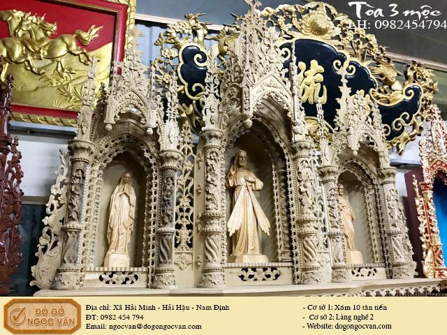 Tòa công giáo phần mộc, tòa 3 công giáo, tòa thiên chúa